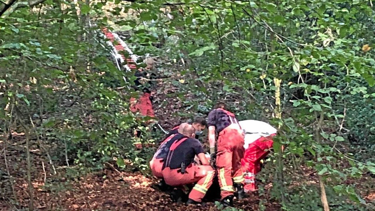 Mountainbiker stürzt in Langenberg und verletzt sich schwer