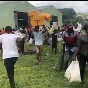 Instead Of Looting The Warehouse, See What This Man Was Caught Taking That Has Gotten Reactions