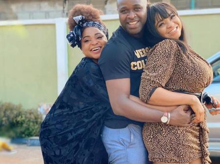 Photos Of Actor Femi Adebayo With Funmi Awelewa, Iya Rainbow, Afolayan And Others In The Industry