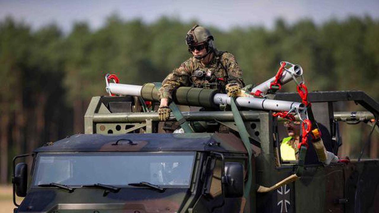 Militärische Großübung in Brockzetel: 900 Soldaten proben für den Ernstfall