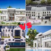 Ronaldo VS Drake: Checkout who has the most beautiful house.