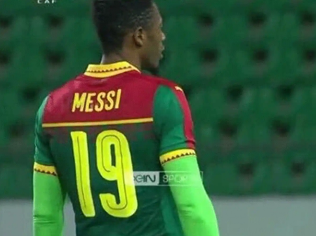 Cameroonian Footballer Who Also Bears the Name