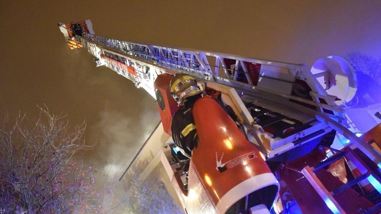 Val-d'Oise. Les pompiers évitent la propagation de l'incendie à Saint-Martin-du-Tertre