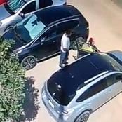 فيديو يهز قلوب جميع الأمهات ويشغل الغضب تجاه هذا الرجل..