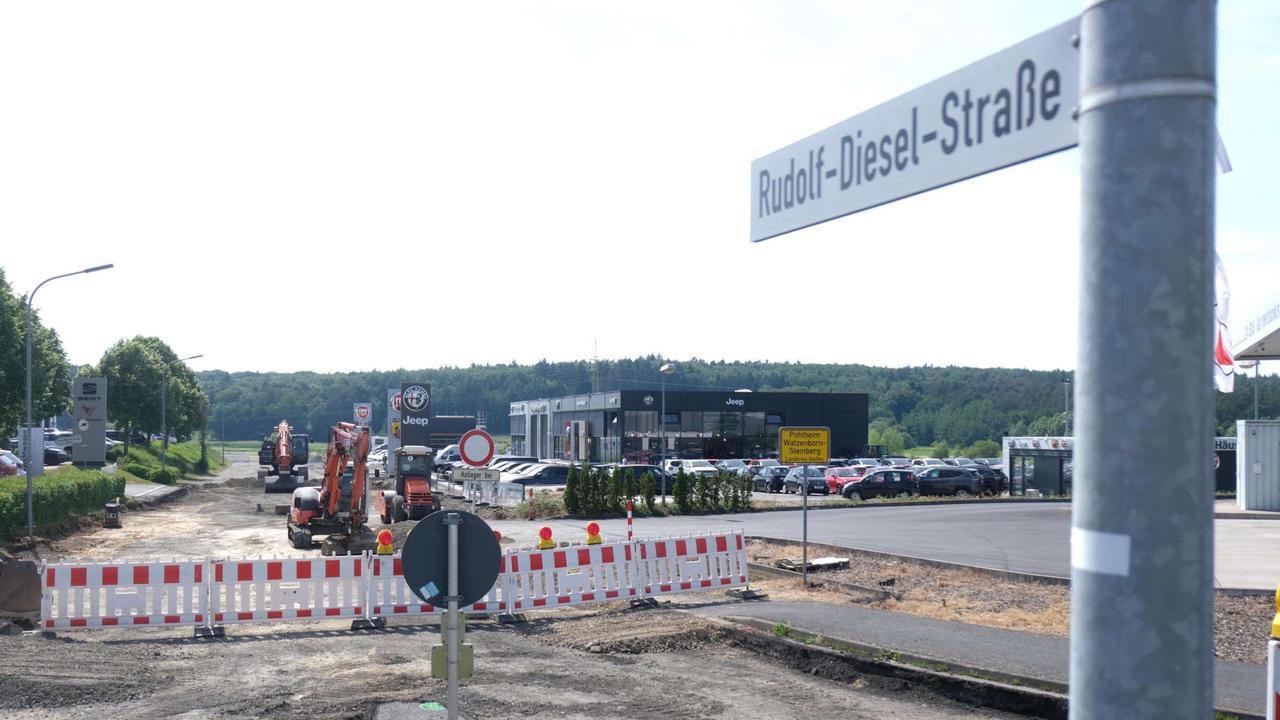 Endausbau der Dieselstraße startet | Kreis Gießen