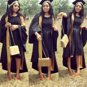 Matriculation throwback pictures of Regina Daniels, Ramsey Noah, Davido and other celebrities