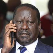 Raila Odinga Meets Benjamin Ayimba's Family