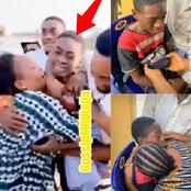 Reactions As Young Boy Regains His Freedom After Being Abducted By Suspected Bandits