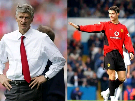 Arsene Wenger Says Manchester United Hijacked Arsenal's Signing Deal For Cristiano Ronaldo