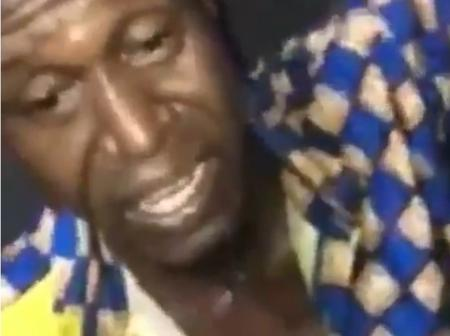 Man asked to sing after he was allegedly caught stealing in a hostel (video)