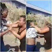 Here's Why She Got A Beating Of Her Life, She Might Never Forget Those Slaps, Watch The Video!
