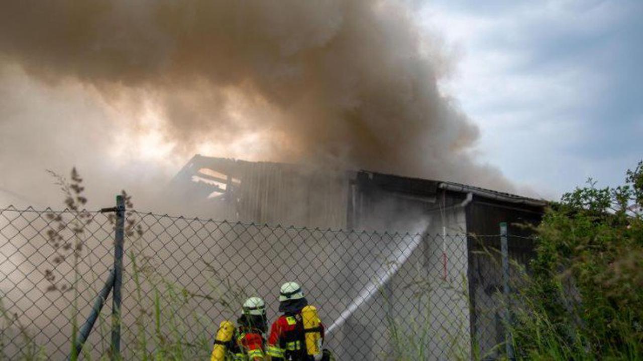 Hoher Schaden nach Brand in Entsorgungsbetrieb