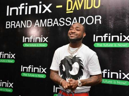 Davido Apologizes After Shading Other Brands in Favour Of Infinix