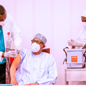 Few Minutes After Buhari And His Vice Took Covid-19 Vaccine, See What Nigerians Are Saying Online