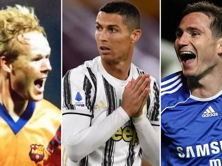 Highest goal scorers in every position in football. Messi does not make the list.