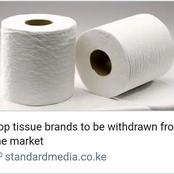 Update: Bad News to All Tissue Paper Users After KEBS Made this Decisive Move