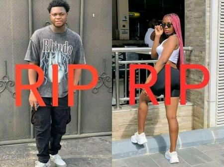 Sad: This Two Lovers Died On The Same Day, Read What Happened To Them That Got Reactions