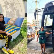 Meet Beautiful Female Millionaire Who Owns Luxurious Bus Company In Kenya [PHOTOS]