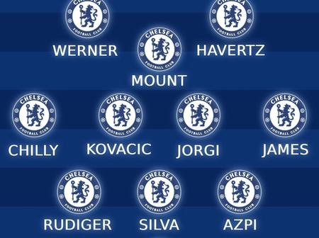 Chelsea possible lineup against West Brom on Saturday lunch time kick-off