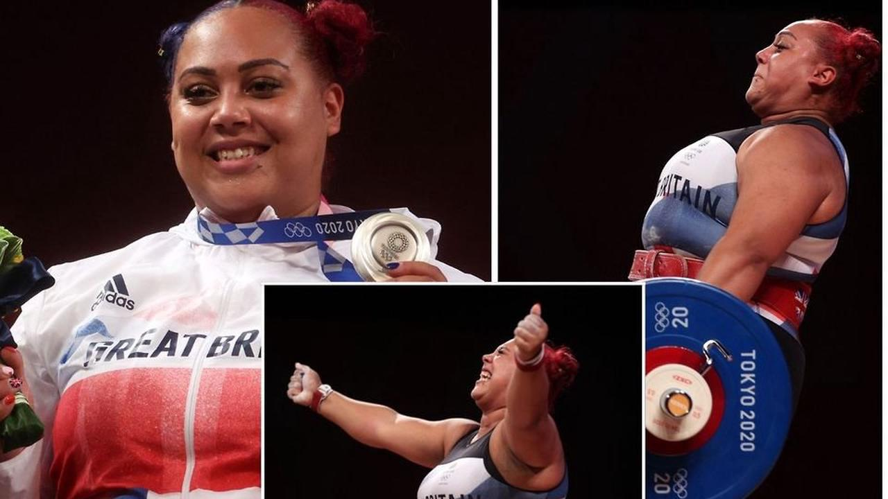 Emily Campbell: Who is Team GB's first ever women's weightlifting Olympic medallist?