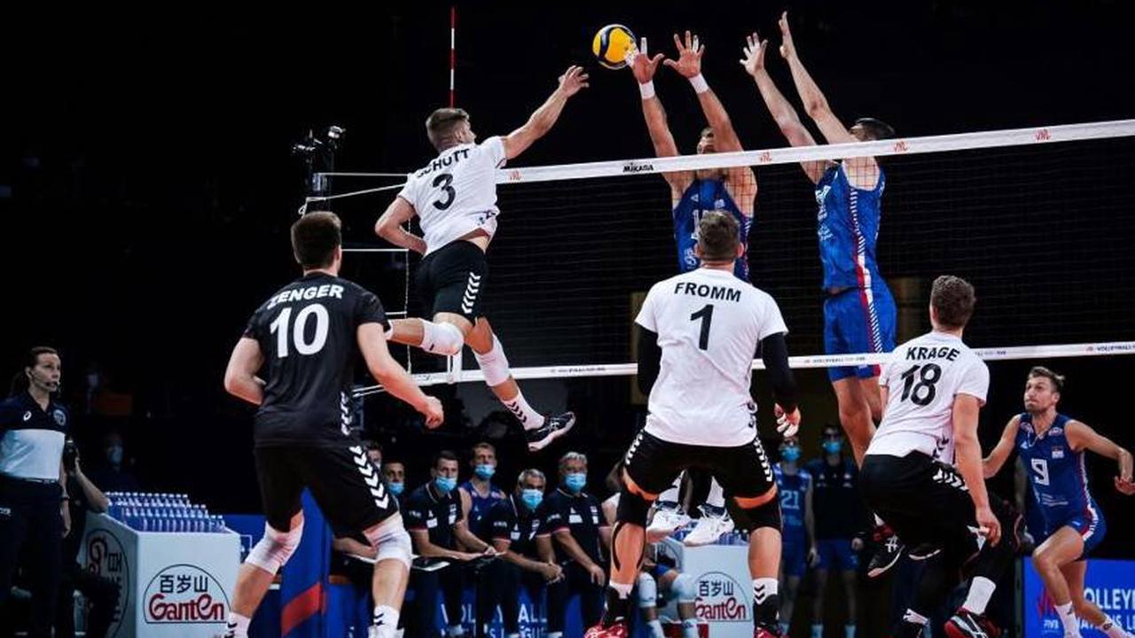 Nations League: Volleyballer unterliegen Serbien