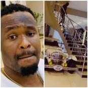 Zubby Michael Shows Off The Interior Of His House, Says