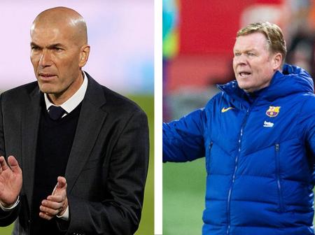 """""""We Will Replay El Clasico"""". Koeman Send Strong Message To Zidane As VAR And Referee Cheat Barcelona"""