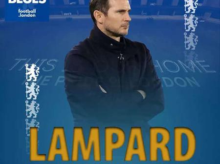 LAMPARD dismissed. Who will replace him?
