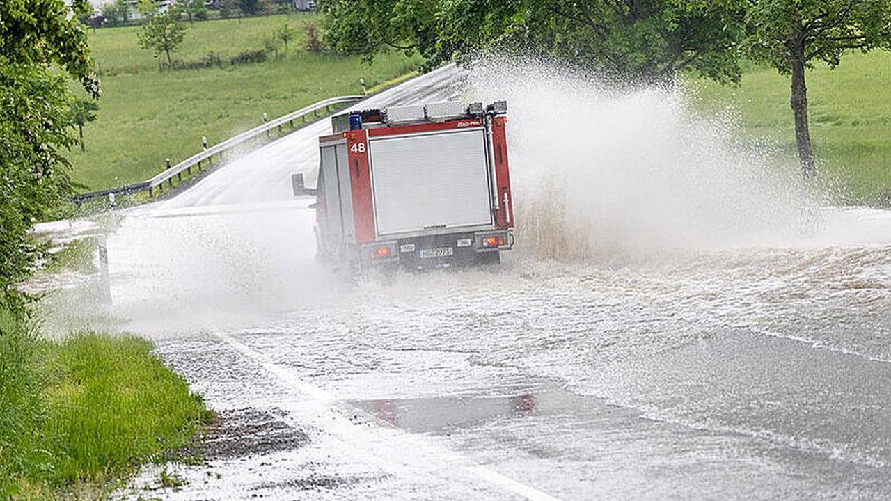 Meteorologen erwarten neue Gewitter