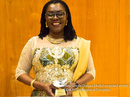 This about Mrs Ursula Owusu-Ekuful Should inspire every Young Lady out there, Whether NDC or NPP