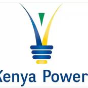 Kenya Power Tweet About Today's Power Interruption Schedule.