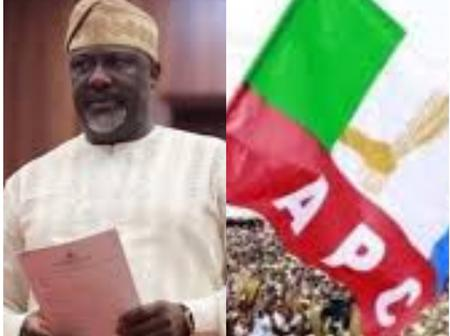 Today's News: Dino Melaye Gets Fresh Appointment, APC Caretaker Committee Sets Up Another Committee