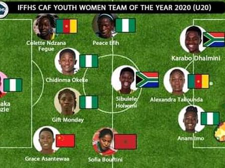Nnadozie and Four Nigerians Top List of Best African U-20 Women's Footballers