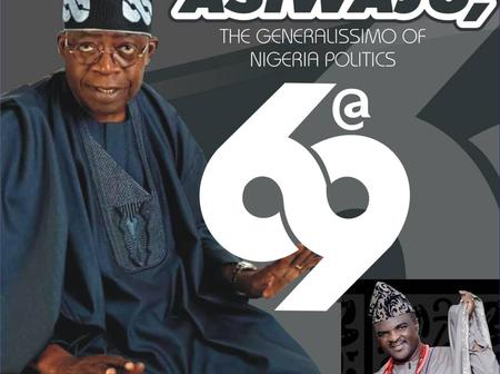 Obesere hails Tinubu at 69 ....releases album in his honour