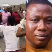 Sunday Igboho Allegedly Resist Arrest Attempt On Him By Security Operatives.