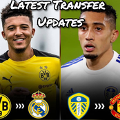Latest Transfer News: Madrid Joins Race For Sancho, Man U Coach Shows Interest In Leeds Star & More