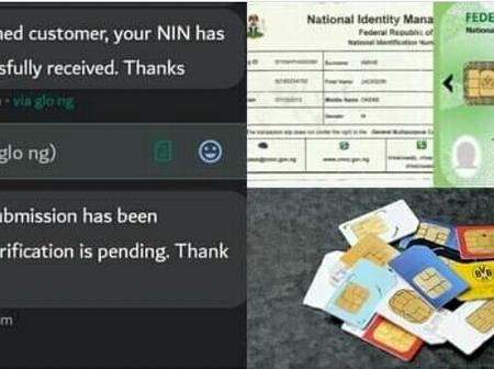 NIN: If You Received This Message Know That Your ID Number Is Successfully Linked With Sim Card