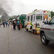 Alépé: des manifestants, anti 3ème mandat d'Alassane Ouattara, bloquent l'accès à la ville