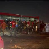 Tesano, Accra Residents Left In Tears As Two Persons Died Instantly After Horrific Accident