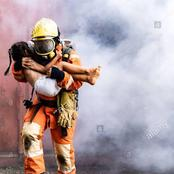 Touching Photos Of Firefighters Rescuing Peoples In Nigeria and Around The World