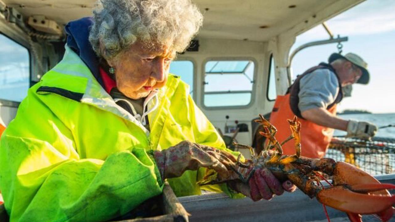 Maine's 'Lobster Lady' — 101 and going strong