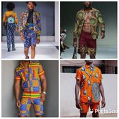 Checkout Classic Ankara Shorts For Men