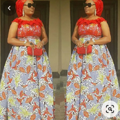 Are You A Married Woman? See 50 Long And Attractive Gown Styles You Should Have In Your Wardrobe