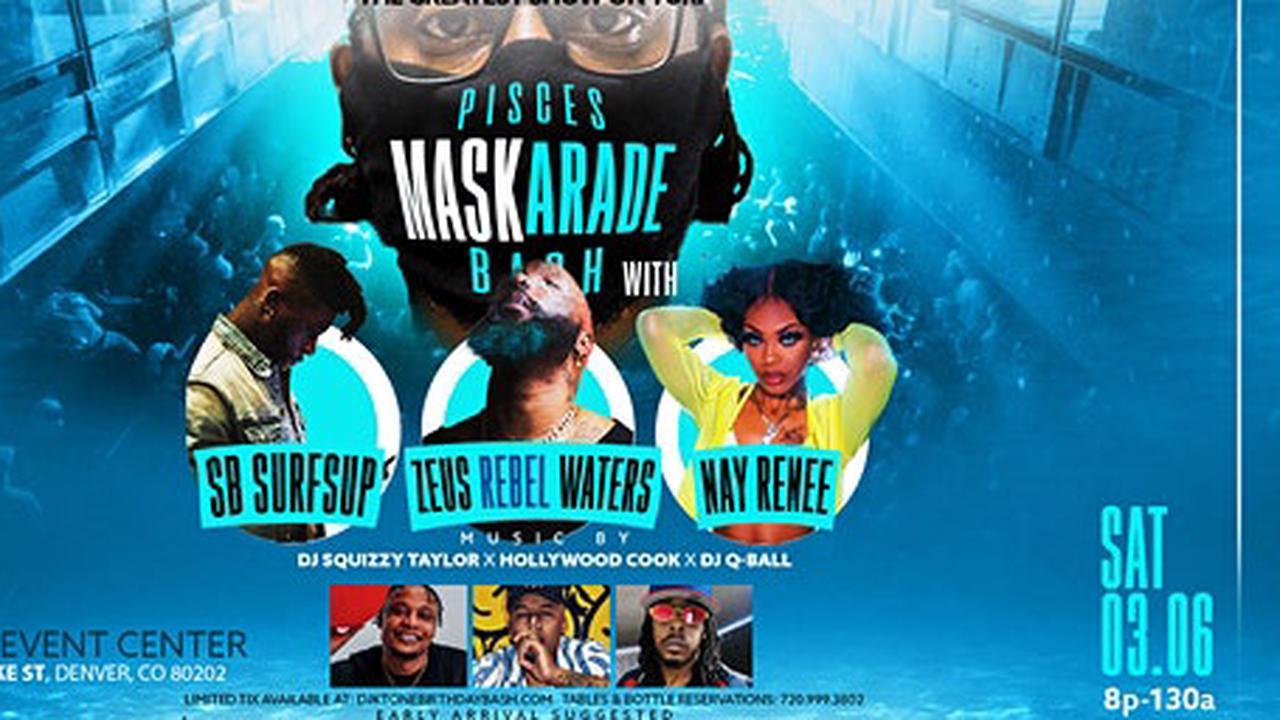 DJ KTONE'S 14th ANNUAL BIRTHDAY BASH: MASKERADE PISCES BASH