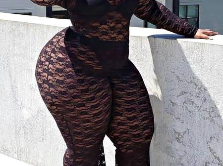 Checkout Stunning Photos Of Christy, The Plus Sized Model With Massive Hips Making Waves On IG.