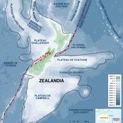 Nous vous présentons le nouveau continent récemment découvert sous l'océan Pacifique