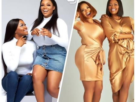 Check Out Actress Kehinde Bankole's Twin Sister As They Celebrate Their Birthday