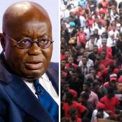 Withdraw your support or face our wrath - Concerned Youth Of Ghana tells Nana Akufo-Addo boldly