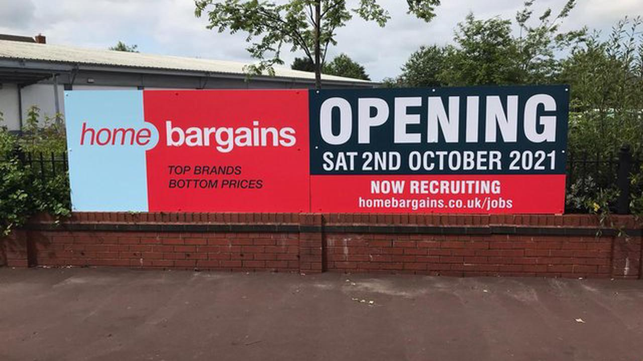 Opening date confirmed for new Home Bargains in Leyland