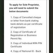 How to Open Mpesa Business Till Number And Documents Required